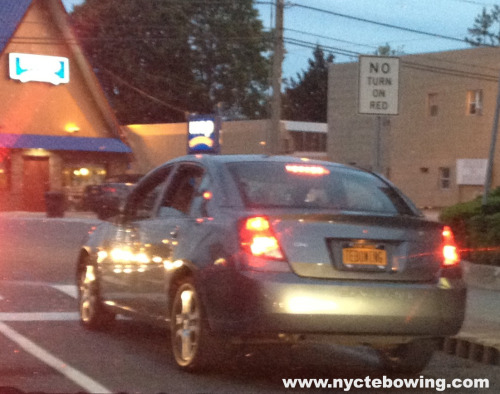 Tebowing License Plate Spotted!