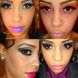 MAKEUP BY @FASHIONSVIXEN #MakeupMonday #FashionsVixen #FemmDivine.Net Email:Info@FemmDivine.Net for Appointments (Taken with instagram)