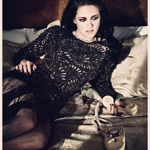 prabalgurung:  Kristen Stewart @KristenStew_ so awesome in PG Fall'12 for @ELLEmagazine June Issue. TYVM @mrjoezee We love it, don't y'all??? (Taken with instagram)