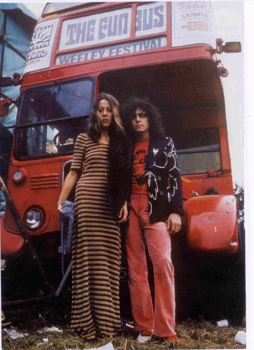 Marc Bolan & June Child