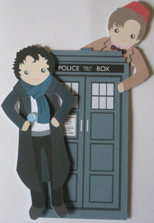 The Doctor and his Tardis~ And Sherlock :3