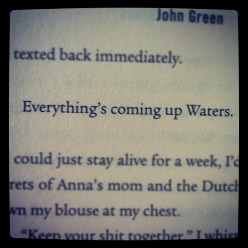 youvegotbeauty:  TFioS (Taken with instagram)