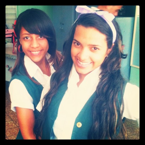@deiderlyn #Class #Friend #School #Violet #Red #Biology #Cute (Tomada con instagram)
