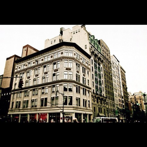 #NYC #UpperWestSide #architecture #nostalgia   (Taken with instagram)