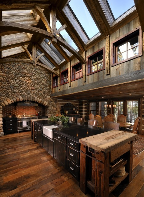 whatsaninspiration:  (via Lake Country Builders - traditional - kitchen - minneapolis - by Lake Country Builders)