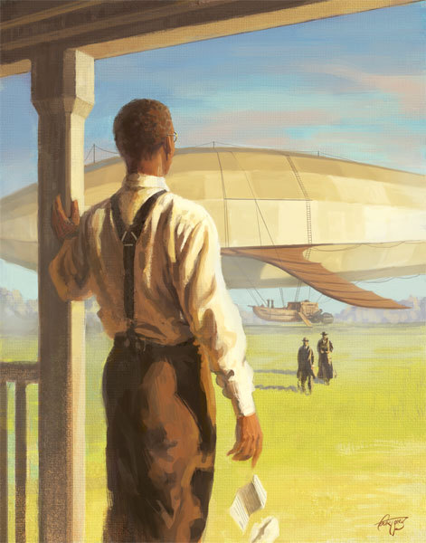 """Carver and the Airship"", by Court Jones."
