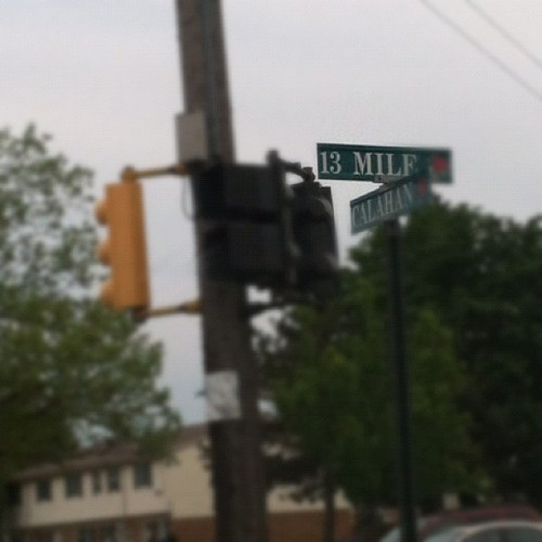 13 milf road. Totally how I read that. (Taken with instagram)