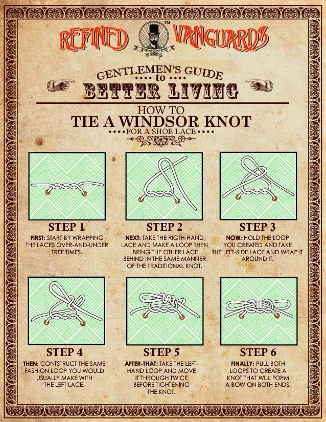 RFND: How To Tie an Windsor Knot Have you ever had a boat shoe (or any footwear for that matter) that just wouldn't stay tied? Know matter what you did, they just became unraveled after certain period of time? You're not alone folks. Many of us run across this issue at some period of our lives….. Read More