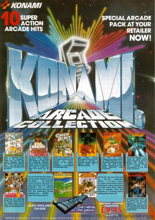 Konami Arcade Collection.
