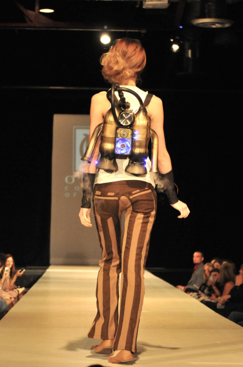 O'More College of Design - Spring Fashion Show 2012 - Rocket Girl Back