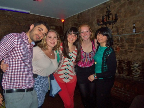 One of my last night's out with some of my BEST Spanish friends that I made here! I'm so so so lucky that I got to meet them and I always have the most fun when I go out with them. They all have an open invitation to come visit me anytime!