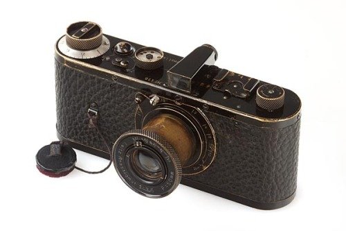 The most expensive camera, Leica 0 Series  weandthecolor:  Leica 0-Series - World's Most Expensive Camera This beautiful vintage camera is currently the world's most expensive camera. The 21st WestLicht camera auction in Vienna on Saturday (05-12-2012) sets new record. The auction started at a price of 300,000 EUR and the winning bid for the prototype of the 1923 Leica 0-series was 2.16 million EUR including buyer's premium (it's about US$2.79 million). via: WE AND THE COLORFacebook // Twitter // Google+ // Pinterest