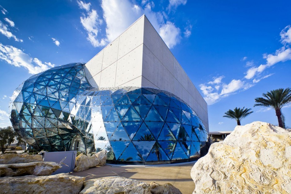 Salvador Dali Museum in St. Pete, FL- It was absolutely stunning.