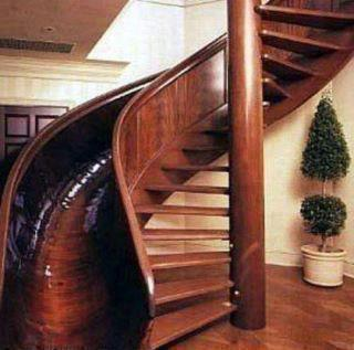 Inspiration: My future staircase/slide ……#lazy
