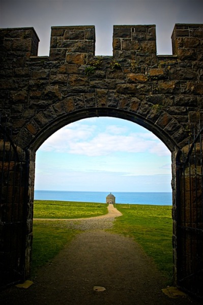 Mussenden Temple, Ireland.