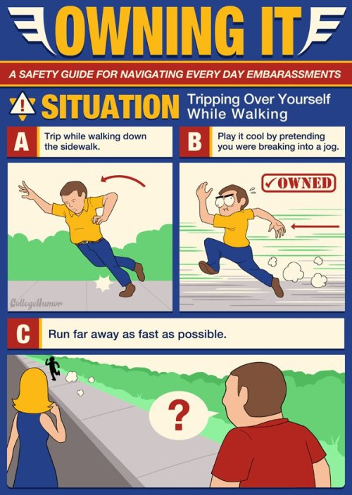 collegehumor:  How to OWN any situation