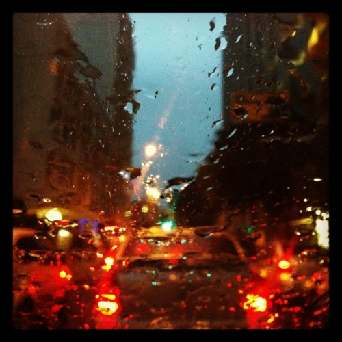 Raindrops (Taken with Instagram at Botafogo)