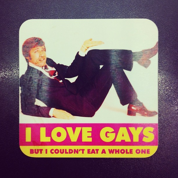 Amazing coaster 1. (Taken with Instagram at Leo Burnett London)