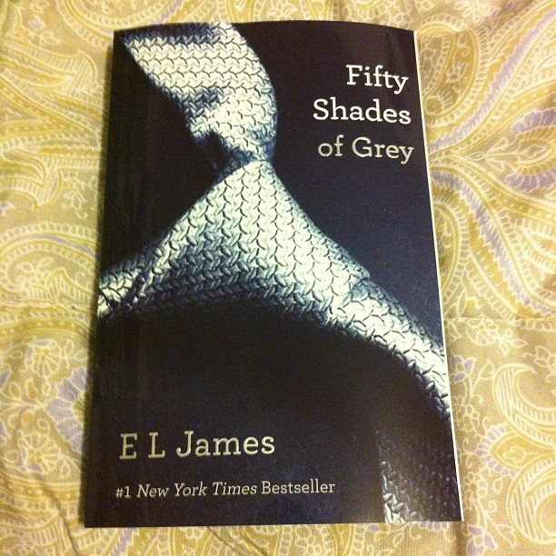 About to begin Fifty Shades of Grey.  (Taken with instagram)