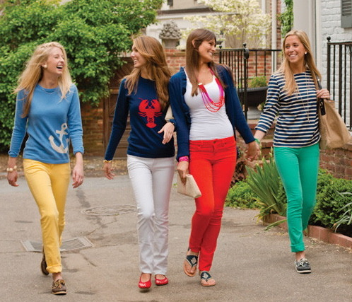 i NEED some bright green jeans ASAP. and coral. and royal blue. gah.