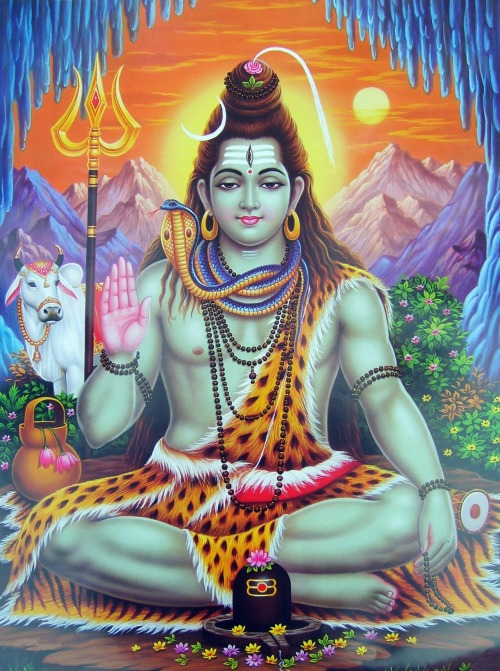 "aumnipresence:  God Siva is a one being, yet we understand Him in three perfections: Absolute Reality, Pure Consciousness and Primal Soul. As Absolute Reality, Siva is unmanifest, unchanging and transcendent, the Self God, timeless, formless and spaceless. As Pure Consciousness, Siva is the manifest primal substance, pure love and light flowing through all form, existing everywhere in time and space as infinite intelligence and power. As Primal Soul, Siva is the five-fold manifestation: Brahma, the creator; Vishnu, the preserver; Rudra, the destroyer; Maheshvara, the veiling Lord, and Sadashiva, the revealer. He is our personal Lord, source of all three worlds. Our divine Father-Mother protects, nurtures and guides us, veiling Truth as we evolve, revealing it when we are mature enough to receive God's bountiful grace. God Siva is all and in all, great beyond our conception, a sacred mystery that can be known in direct communion. Yea, when Siva is known, all is known. The Vedas state: ""That part of Him which is characterized by tamas is called Rudra. That part of Him which belongs to rajas is Brahma. That part of Him which belongs to sattva is Vishnu."" Aum Namah Sivaya."