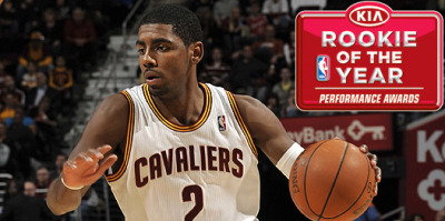 Kyrie Irving: Rookie of the Year