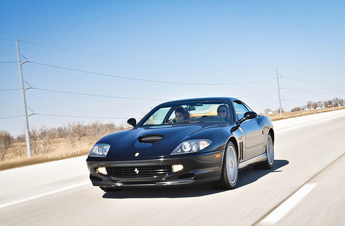 Just cruisin' Starring: Ferrari 550 (by Ricky S. Photography)