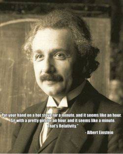 knowledgefordummies:  - Einstein explaining relativity like a Genius!