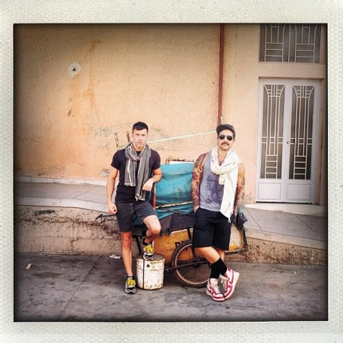 With @mrpollock in the industrial district  (Taken with Instagram at Marrakech)