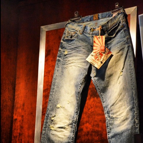 These hang like medal of honor… #PRPS #Denim #PRPSGoods  (Taken with Instagram at denim bar)