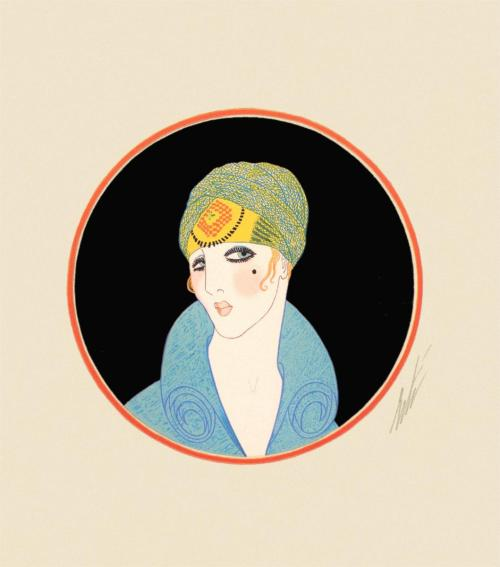 Erté, Yellow Turban