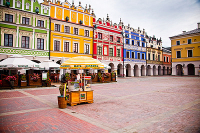 travelingcolors:  Zamość | Poland (by footprints*)