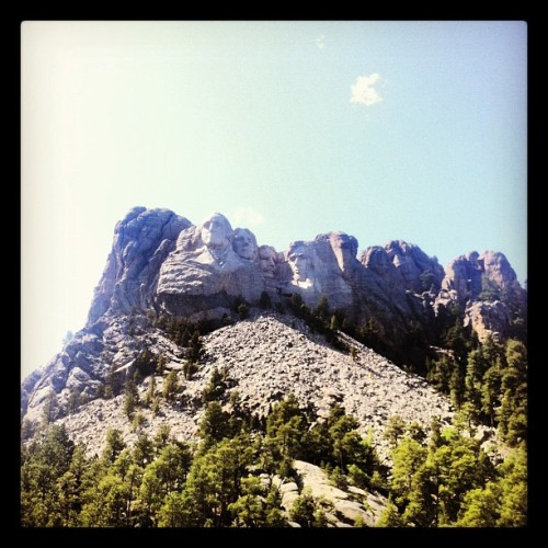 Look what I found! (Taken with Instagram at Mount Rushmore National Memorial)