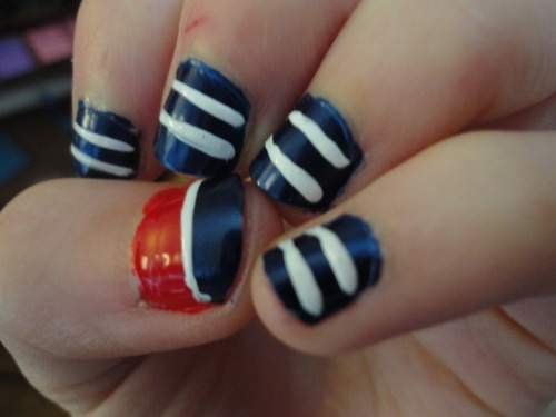 Day 11: Stripes! A little nautical action for you guys.