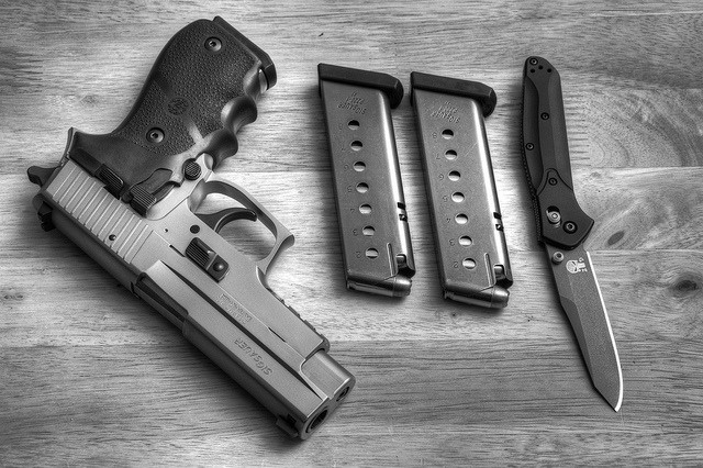 p0litical:  Sig and Benchmade by ZORIN DENU.