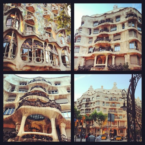 #Gaudi #Barcelona (Taken with instagram)