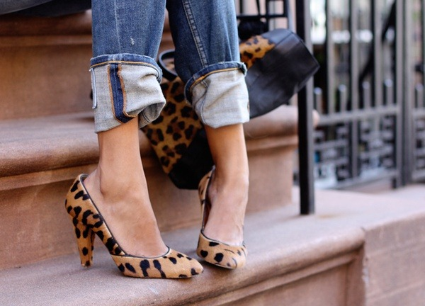 Normally I am not a fan of leopard print but these shoes are divine.
