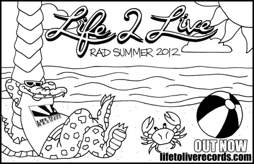Download: http://lifetoliverecords.bandcamp.com/album/rad-summer-2012 Buy tape: http://ltlrecs.storenvy.com/products/333681-rad-summer-tape
