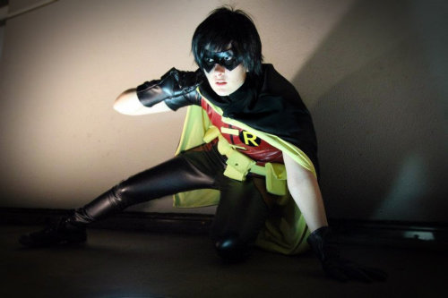 Young justice - Robin (via Reconnaissance by ~JudaiKeshi on deviantART)