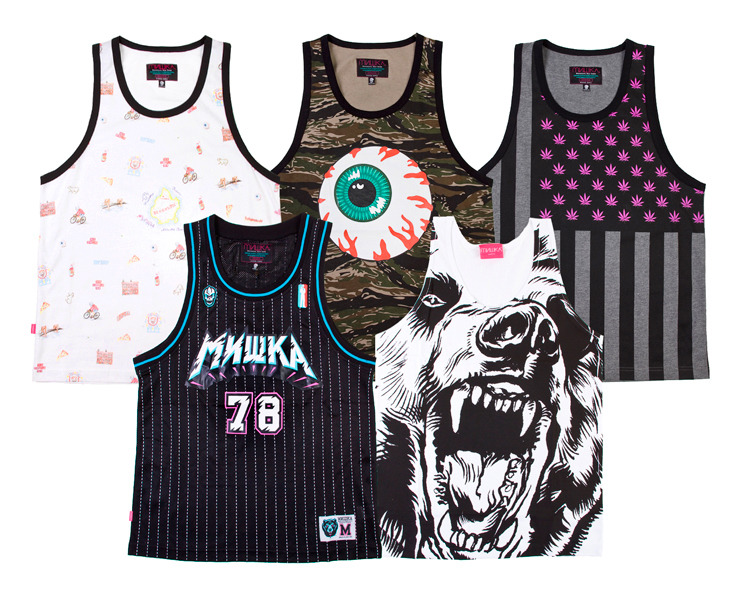 Mishka Tanks Summer '12