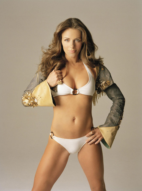 Elizabeth Hurley Photoshoot by Antoine Verglas.