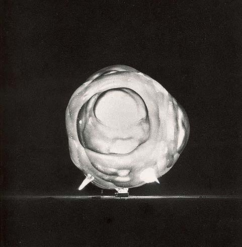 flasd:  Harold Edgerton, a nuclear explosion captured one nano second after detonation.