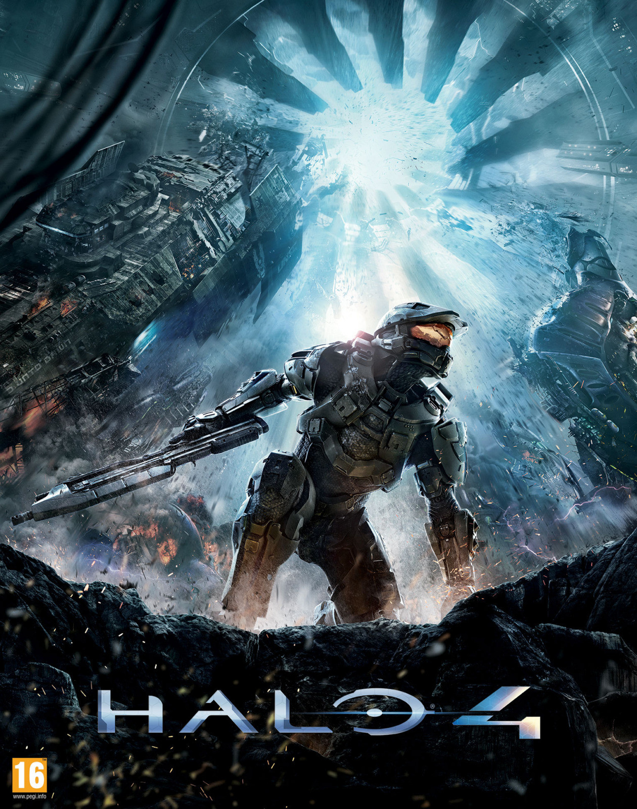 gamefreaksnz:  Halo 4 Box Art Illustration Released Posted on Facebook by 343 Industries Franchise Development Director Frank O'Connor.
