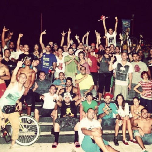1er #alleycat  en #caguas #moisty #bike #fixiegear  #fixie   (Taken with instagram)
