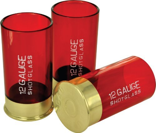 12 Gauge Shot Glasses - I don't know, maybe for a redneck cannibal or crime-scene theme. Or just whenever.