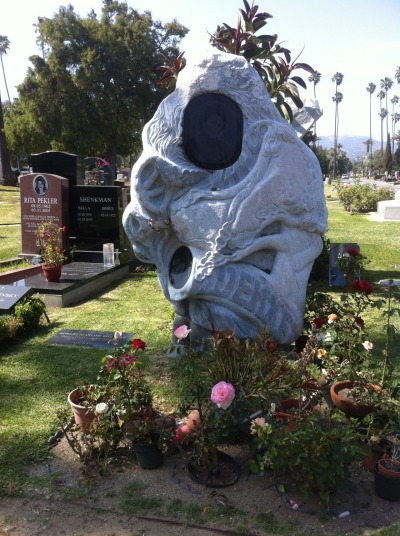 Sculpture  Taken at the Hollywood Forever Cemetery.
