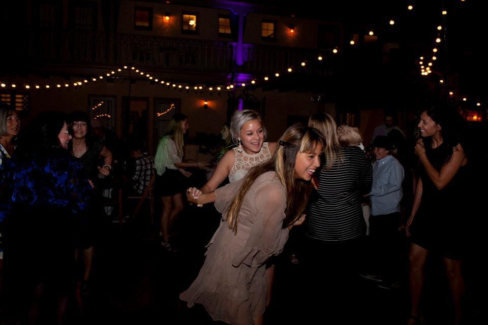 Me and my Tia gettin groovy on the dance floor