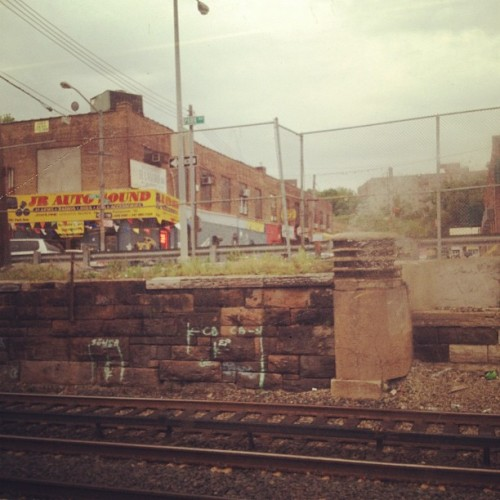 Tremont stop on the Metro North train (Taken with instagram)