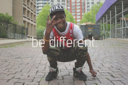 stadography:  be different.