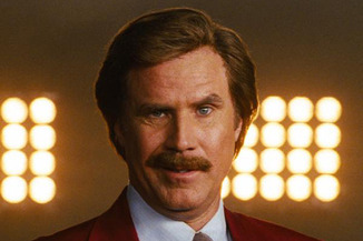 Anchorman 2 teaser trailer will appear before The Dictator midnight showings. It will also be showing before every film at your home on Whore Island.
